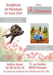 2021-03_Sculpture et Peinture chez Fleurs Campagne_Affiche petite